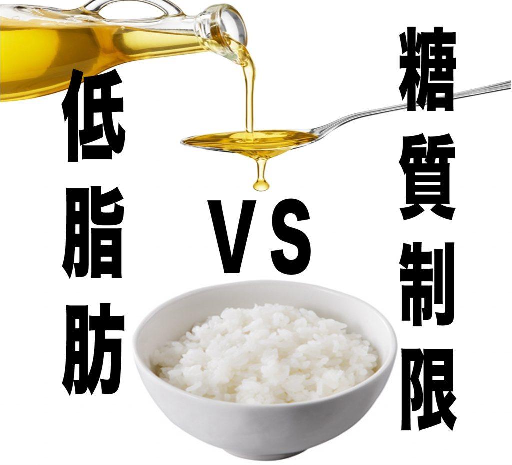 【糖質制限or低脂肪】ダイエット食のメリットとデメリット